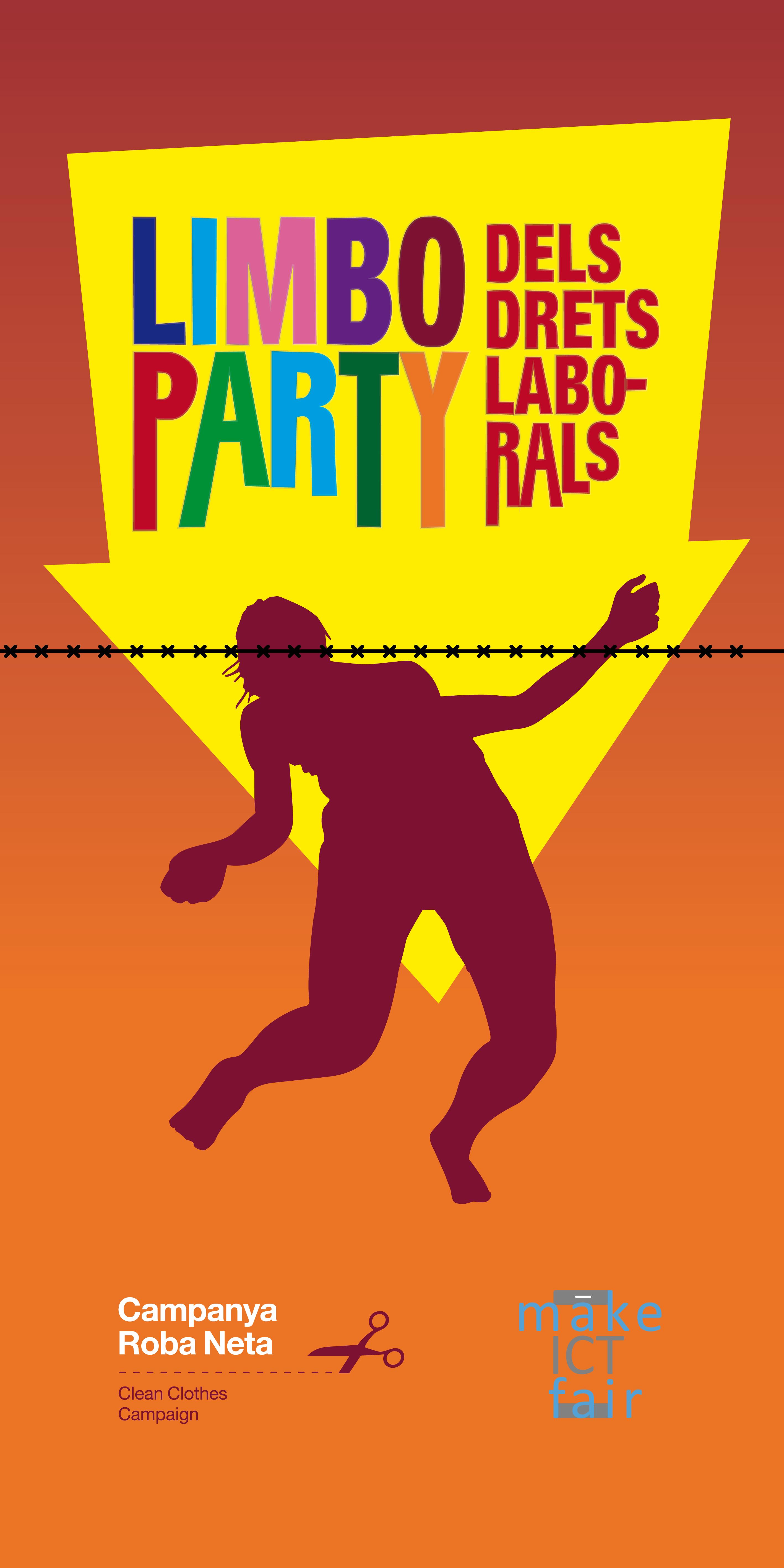 La Limbo Party dels drets laborals: la lluita contra el Black Friday al carrer